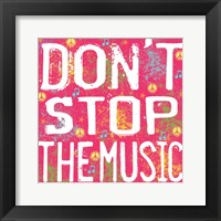 The Music Framed Print