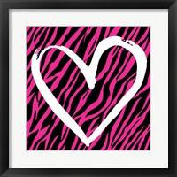 Zebra Love 2 Framed Print