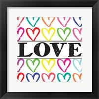 Love Sharpie 2 Framed Print