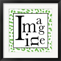 Imagine 2 Framed Print