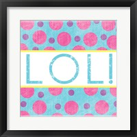 Framed LOL Dots
