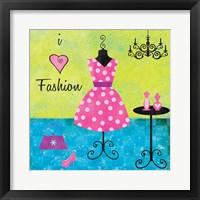 Fashion I Framed Print