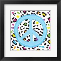 Leopard Peace 1 Framed Print
