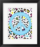 Leopard Peace 2 Framed Print