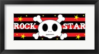 Rock Star 1 Framed Print