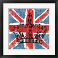 Framed Union Jack Crown 2