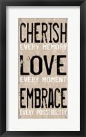 Cherish Love Embrace 1 Framed Print