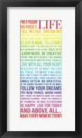 This is Your Life 3 Framed Print