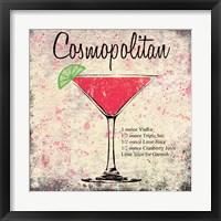 Cosmopolitan Framed Print