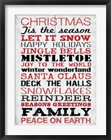 Christmas 2 Framed Print