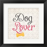 Dog Lover Framed Print