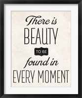 There is Beauty 1 Framed Print