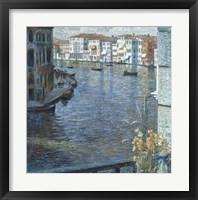 Framed Canal Grande in Venice