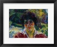 Framed Portrait of Signora Armida Brucky 1909