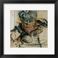 Framed Study of the Head, Portrait of the Artist's Mother 1912