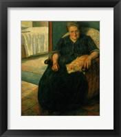 Framed Signora Virginia, c. 1905-1910