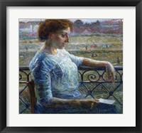 Framed Sister on the Balcony 1909