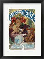 Framed Les Bieres de la Meuse, 1898
