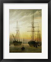 Framed Ships in the Harbour, 1774-1840