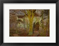 Framed Sunshine (Rayon de soleil) April 1899