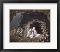 Framed Titania Sleeping, 1841