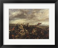 Framed Battle of Poitiers, 1830