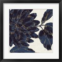 Indigo Garden I Framed Print