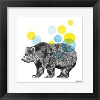 Framed Sketchbook Lodge Bear