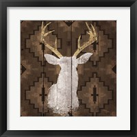 Framed Precious Antlers I