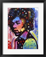 Framed Jimi Hendrix IV