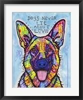 Framed Dogs Never Lie