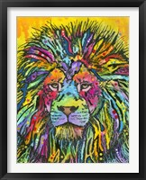 Framed Lion Good