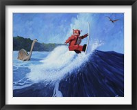 Framed Surfer Joe