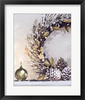 Framed Gold Wreath