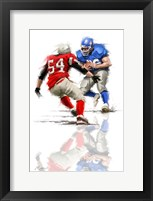 Framed American Football 1