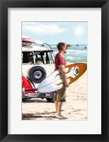 Framed Surfer