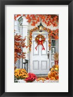 Framed Fall Decorations