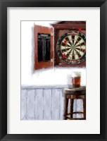 Framed Dart Board