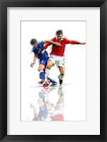 Framed Football Players 2