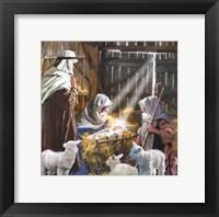 Mary Joseph Shepherd Boy Framed Print