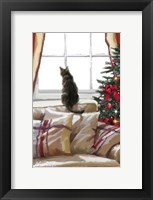Framed Cat on Chair