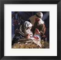 The Birth Framed Print