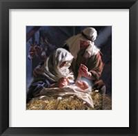 The Birth Framed Print