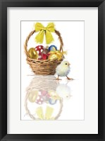 Framed Easter Chick