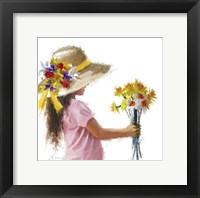 Framed Easter Bonnet