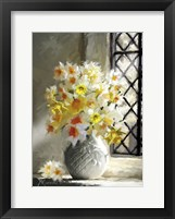 Framed Daffodils At Window