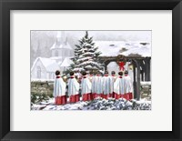 Framed Christmas Choir 1