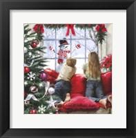 Framed Kids At Window