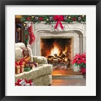 Framed Fireplace 3