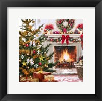Framed Decorated Hearth 1